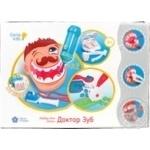 Набір для дитячого ліплення Лікар Зуб GENIO KIDS ART
