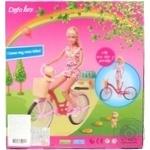 Лялька на велосипеді DEFA - купить, цены на Novus - фото 2