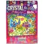 Іграшка Данко набір д/творчості Crystal Mosaic Kids х6