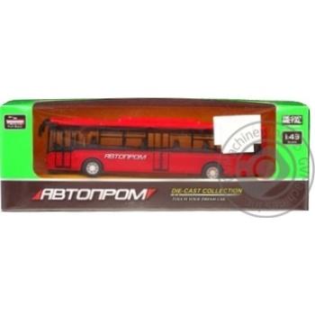 Игрушка Автопром автобус