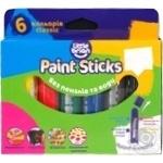 Фарба-олівець Paint Sticks classic 6шт набір Арт.LBPS10CA6