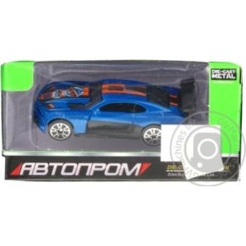 Машинка Shantou Гоночная металлическая 7636KI - купить, цены на МегаМаркет - фото 1