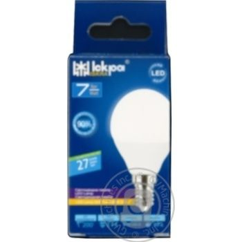 Bulb Iskra e14:е14 7w 220v - buy, prices for Novus - image 1