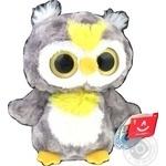 Игрушка мягкая Aurora yoohoo сова сияющие глаза 23см