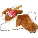 Кролик рудий 25 см