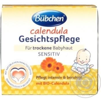 Крем для лица Bubchen Календула детский 75мл