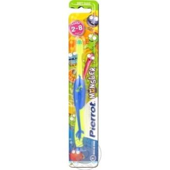 Зубна щітка Pierrot дитяча Монстр х12 - купить, цены на МегаМаркет - фото 5