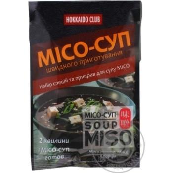 Суп Місо 1 порція Хокайдо Клуб 18,5г