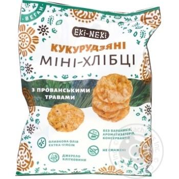 Eki-Neki Corn With Provence Herbs Mini Crispbreads 40g - buy, prices for Novus - image 2