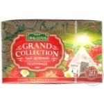 Tea Tian shan strawberries with cream green packed 20pcs 40g