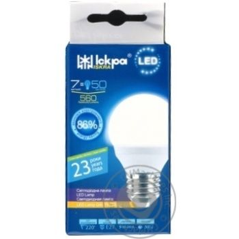 Лампа светодиодная Ickpa 7W E27 G45 - купить, цены на Novus - фото 1
