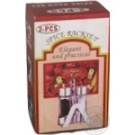 Набір А-Плюс для солі і перцю на підставці Art.SP1701 х12 - купити, ціни на МегаМаркет - фото 2