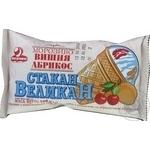 Мороженое Лакомка Стакан Великан Вишня Абрикос 100г