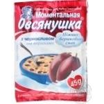 Каша Овсянушка с черносливом и сливками 45г