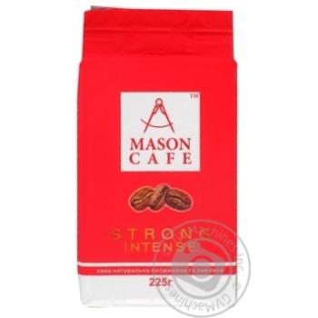 Coffee Mason cafe ground 225g - buy, prices for MegaMarket - image 1