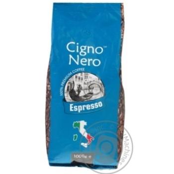 Coffee Cigno nero Nero in grains 1000g - buy, prices for MegaMarket - image 1