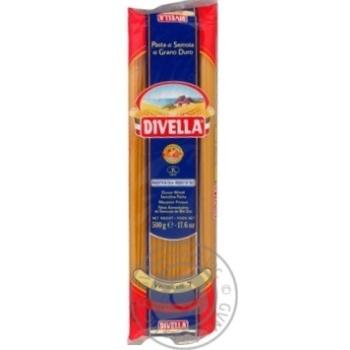 Макаронні вироби Divella Vermicelli 7 500г
