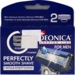 Кассеты для бритья Deonica for Men 2шт 5 лезвий