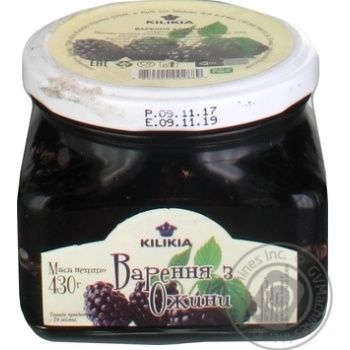 Jam Kilikia blackberry 430g