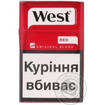 Сигареты Stolychni West Red - купить, цены на Фуршет - фото 1