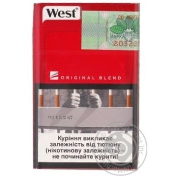 Stolychni Cigars West Red - buy, prices for Furshet - image 2