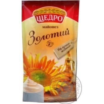Майонез Щедро Золотой 50% 150г
