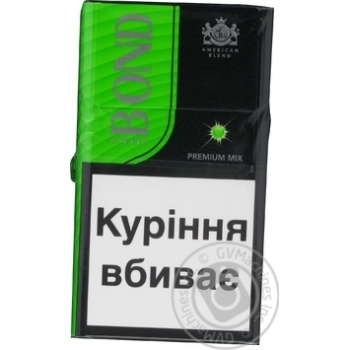 Bond Street Premium Mix Cigarettes 20pcs - buy, prices for Furshet - image 2