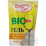Гель для миття посуду Economy Line лимон 450г - купити, ціни на Ашан - фото 1