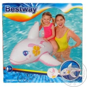 Животные Bestway надувные детские Кит 157*94см