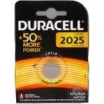 Батарейка Duracell CR2025 1шт