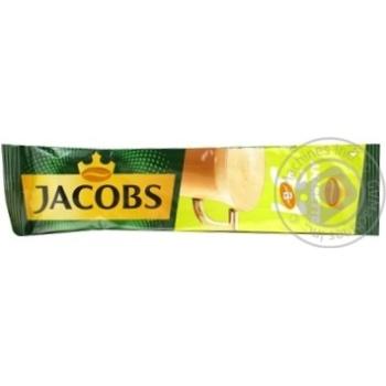 Напиток кофейный Jacobs 3в1 Амаретто растворимый в стиках 12,5г