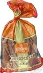 Хліб Рум'янець Литовський нарізаний 400г