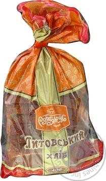 Хлеб Румянец Литовский нарезанный 400г