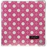 Серветки Tissueclub паперові трьохшарові рожеві 33х33см 20шт