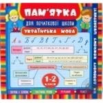 Книга памятка Украинский язык 1-2 классы