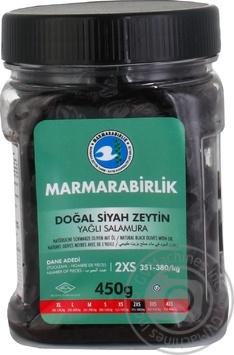 Маслини чорні в'ялені 2XS MARMARABIRLIK 450г