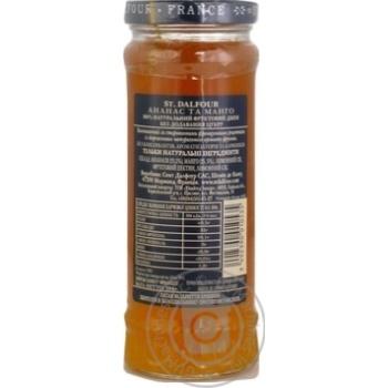 St.Dalfour Pineapple-Mango Jam 284g - buy, prices for Novus - image 8