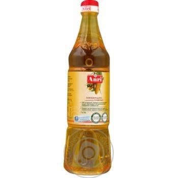 Масло Анри кукурузное с добавлением оливкового нерафинированное 850мл - купить, цены на Novus - фото 2