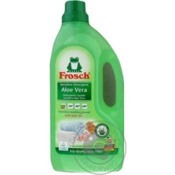 Frosh Aloe Vera Washing Gel for Colored Linen 1,5l - buy, prices for CityMarket - photo 3