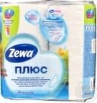 Туалетная бумага Zewa Aqua Tube без аромата 2 слоя 184 отрыва 4шт