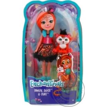 Лялька Enchantimals Тигреня Тензі - купити, ціни на Novus - фото 1