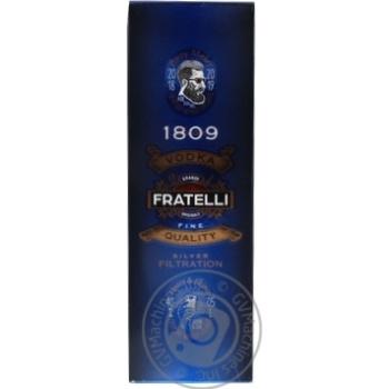 Fratelli Grano Vodka 40% 0,5l
