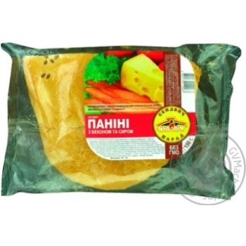 Chudo-Pich Panini with bacon and cheese 150g - buy, prices for Auchan - photo 1