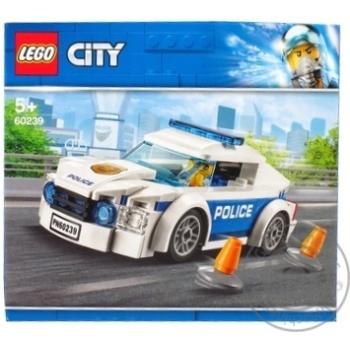 Конструктор Lego Полицейское патрульное авто 60239 - купить, цены на Ашан - фото 3
