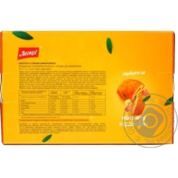 Legko! frozen with cheese nuggets 300g - buy, prices for MegaMarket - image 2