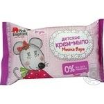 Крем мыло Pink Elephant Мишка Варя детское 90г