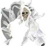 Фігурка декоративна підвісна Скелет 76см Koopman