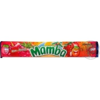 Mamba Assorted Chewing Candies 79,5g - buy, prices for CityMarket - photo 1