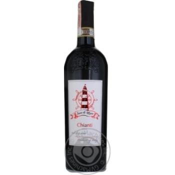 Вино Faro Di Mare Chianti DOCG червоне сухе 12% 0,75л - купити, ціни на CітіМаркет - фото 1