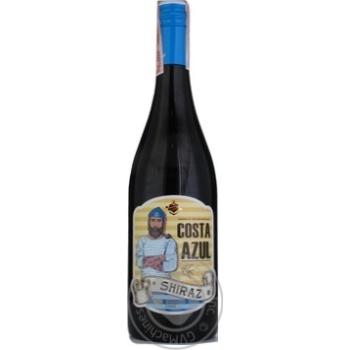 Вино Costa Azul Lozano Shiraz 2018 червоне сухе 13% 0,75л - купити, ціни на CітіМаркет - фото 1
